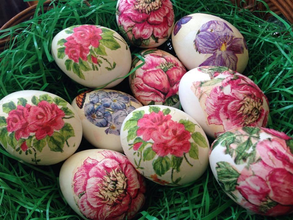 Dekupaž jaja za divni Uskrs