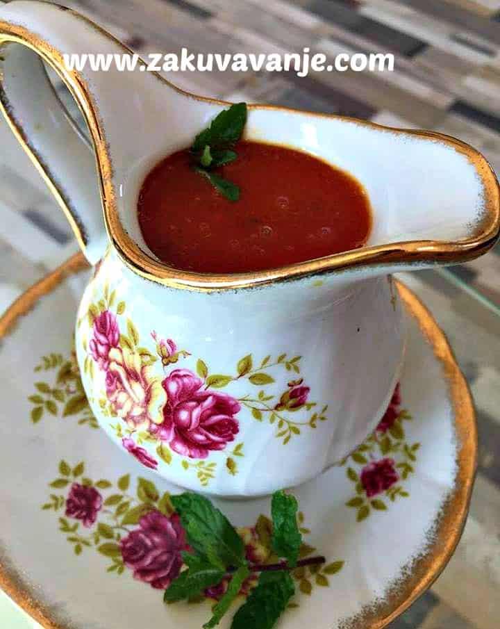 Sos od paradajza sa heljdom