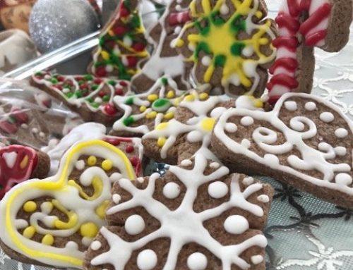 Novogodišnji i božićni kolačići sa cimetom-gingerbread cookies