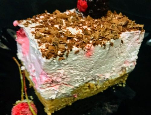 Kolač sa malinama gotov za 10 minuta,  Raspberry cake ready in 10 minutes
