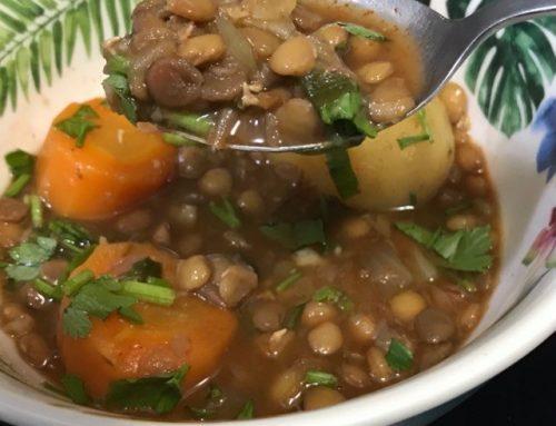 Sočivo recept , Posna hrana bogata proteinima, Lentil recipe